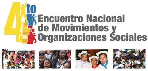 4to encuentro Movimientos Sociales 2012